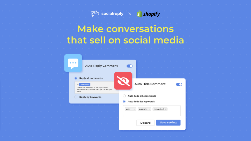 Socialreply V1.2 - New functions to make conversations that sell.
