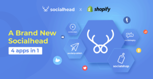 A brand new 'Socialhead' - Make social selling easier than ever with 4 apps in 1.