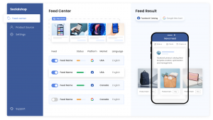 Convert and sell more on Google Shopping and Facebook Shop. List, sync and optimize your product feeds from Shopify to all platforms in minutes with Socialshop.