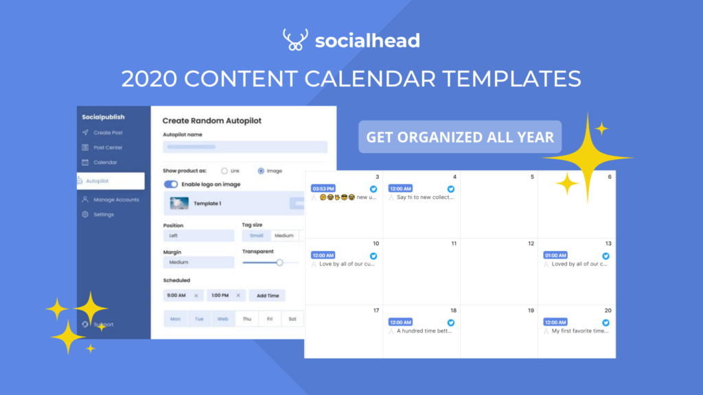 8 Content Calendar Templates to Boost Your Revenue in 2020