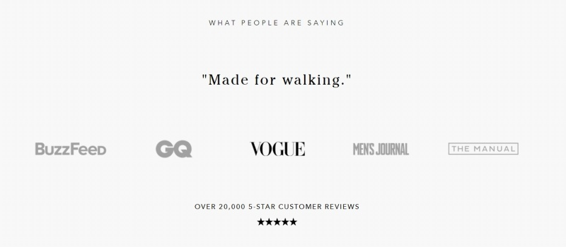 Customer reviews are great for being used as testimonials on-site or on social media. They also build trust.