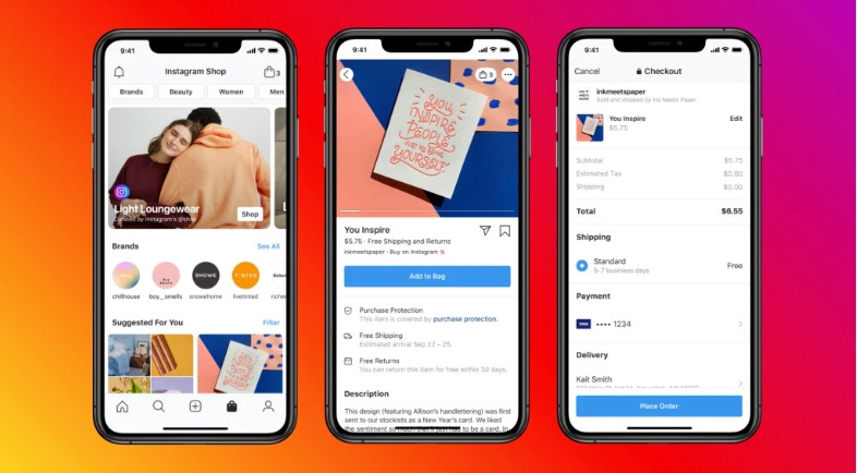 Instagram Shop feature enables merchants to sell more on Instagram.