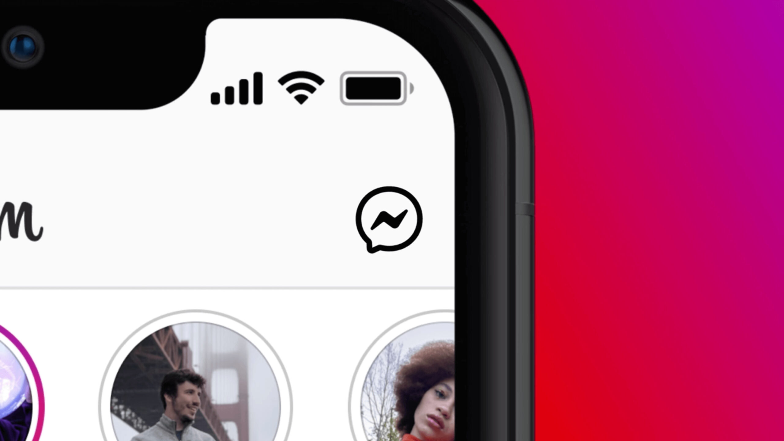 See that Messenger icon at the Instagram box chat?