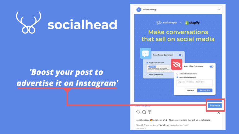 Create a good profile for your Instagram channel.