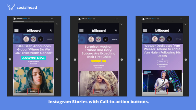 Sell more on Instagram with the 'See More' button on stories.