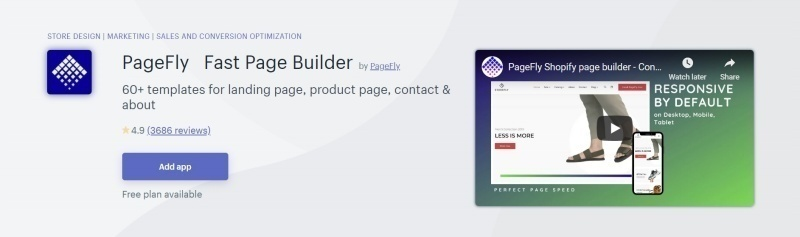 Pagefly - Fast Page Builder