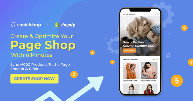 Optimize product feeds on Facebook Shop and Google Shopping at ease with Socialshop