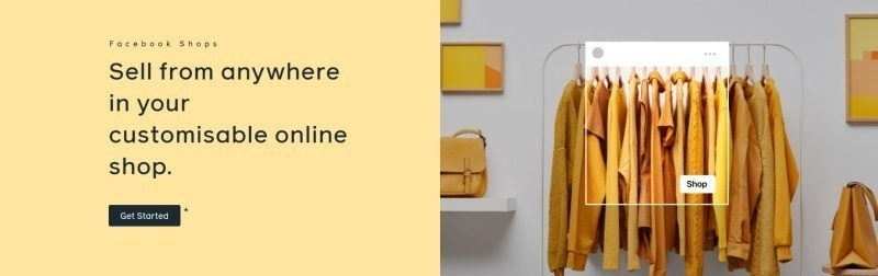 Facebook Shops are a new mobile-first online storefront to connect with the platform's 2.7 billion active users. Source: Facebook.
