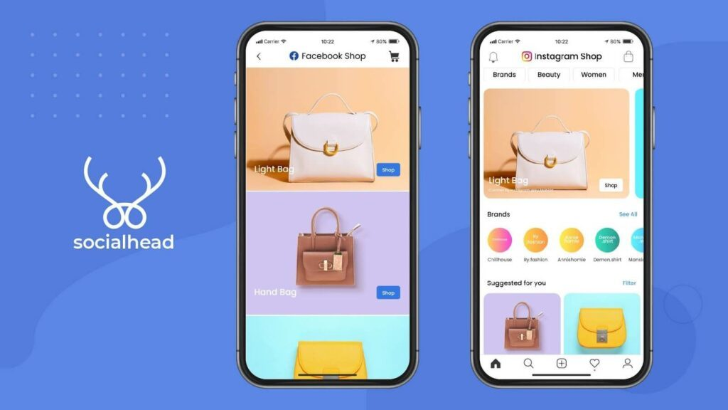 Facebook and Instagram have launched Shop features.