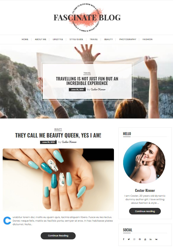 A user-friendly, fast, and full of features theme