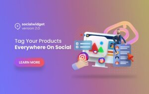 Socialwidget Version 2.0 - Monetize Your Instagram Feeds