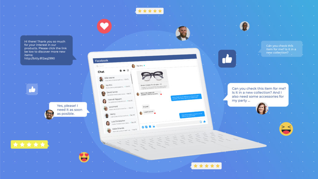 Sell on Facebook Messenger - Socialhead