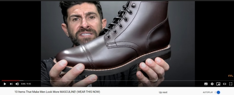 Aaron Marino is YouTube's biggest men's style influencer and a brutally effective affiliate marketer. Source: AlphaM YouTube