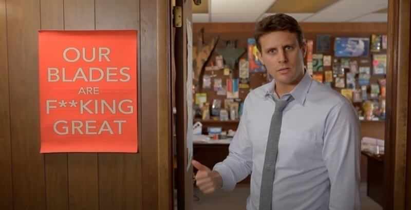 Dollar Shave Club went viral with this rather bold approach to advertising their razor blades