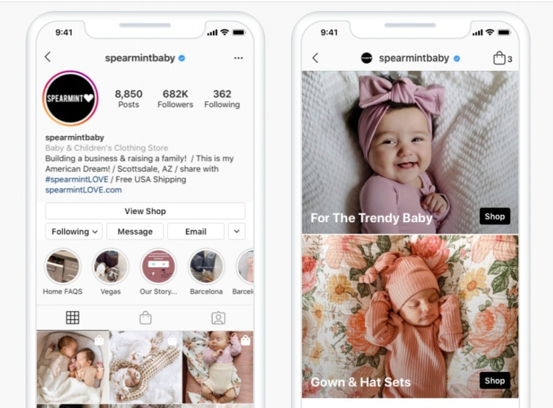 Instagram Shops will allow you to make product collections on your business Instagram page