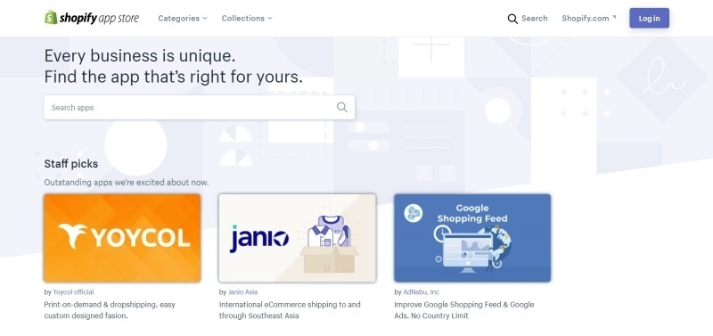 Use the Shopify App Store to unleash the potential of your online store