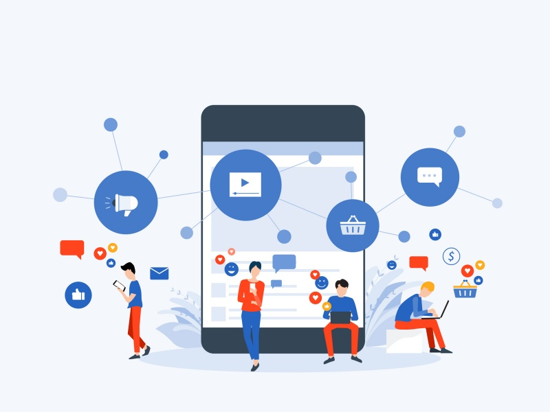 The market share of social commerce is estimated to grow by $2051 billion by 2024