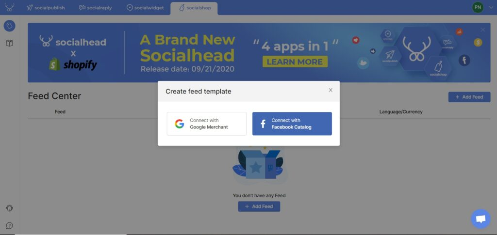 Syncing your products from Shopify to Facebook and Instagram is easy with Socialshop