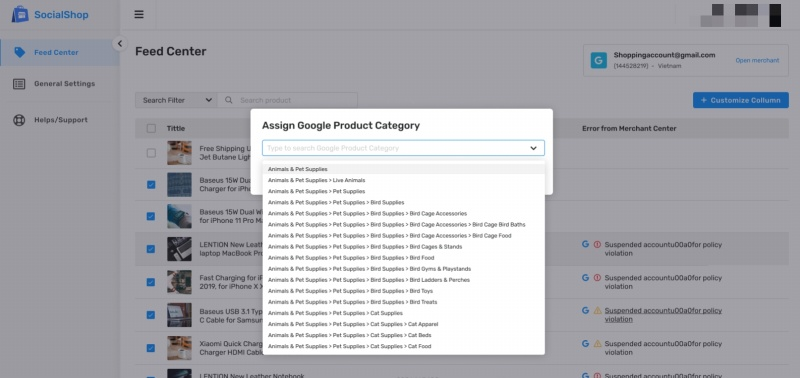 Google Shopping, Facebook Feed lets you quickly sync your product catalog to social media platforms