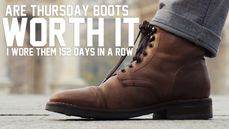 Thursday Boots have a simple and powerful ad message: their product is worth the money