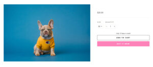 Good product images will highlight the products and engage with customers visually