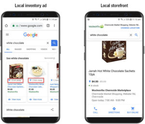 The local customers can find your products easier on search engines with Google LIA