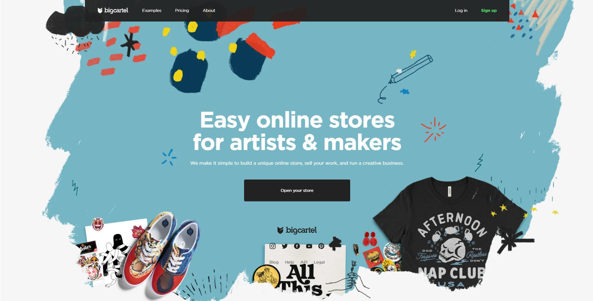 Big Cartel rather target a small niche- artists & makers. Thus, it fits for online sellers with simple product catalog