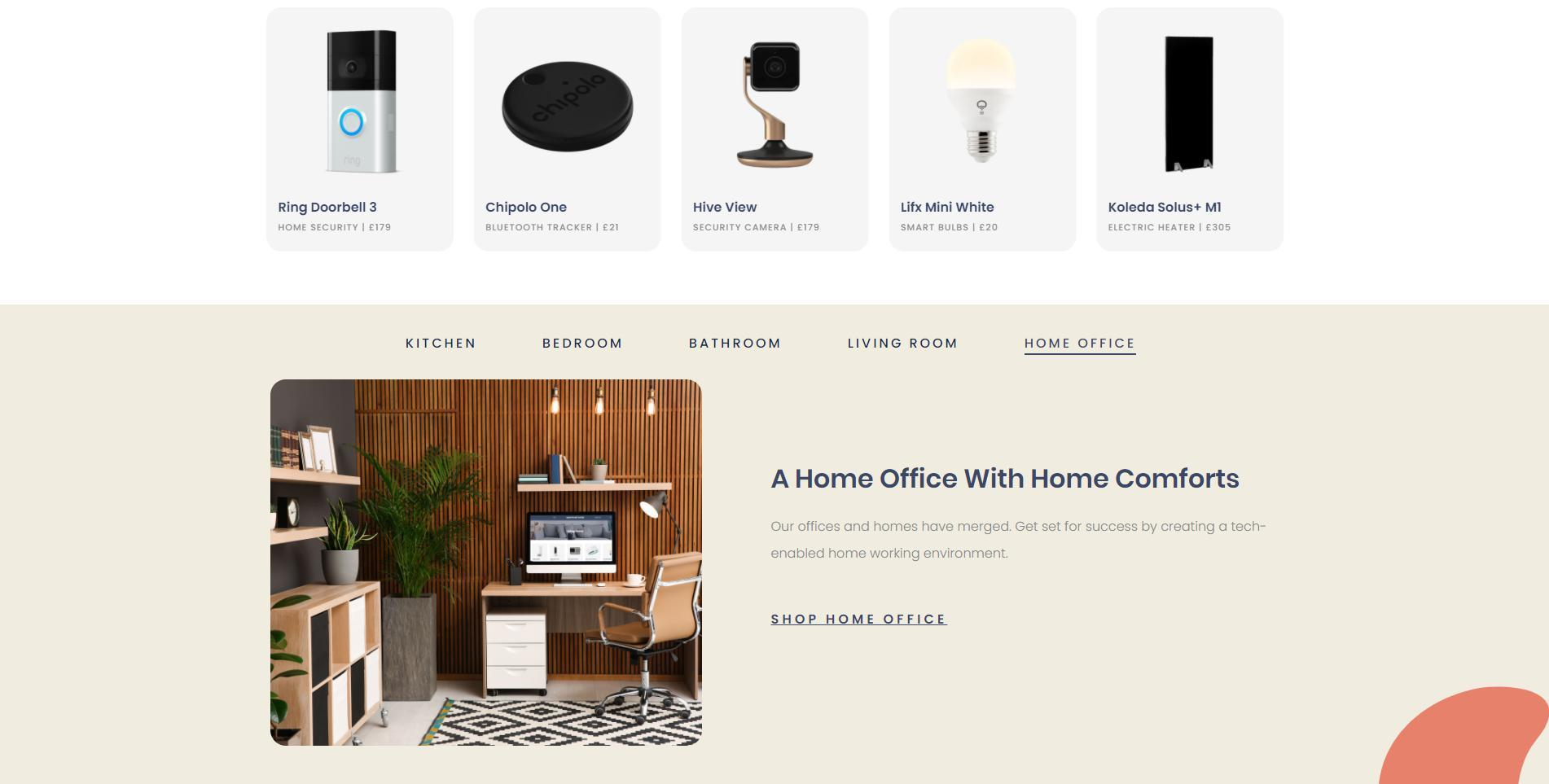 Shopify provides you loads of sleek and professional themes like this one