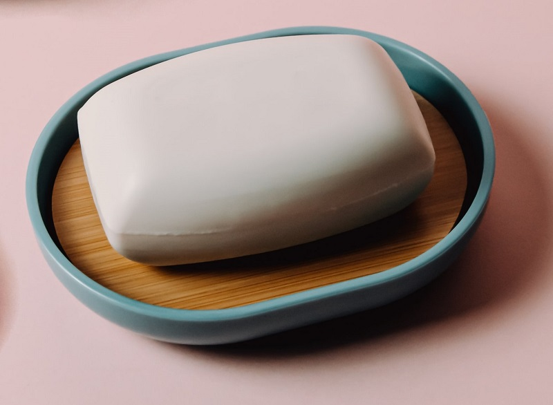 An elegant soap dish makes a great Shopify product