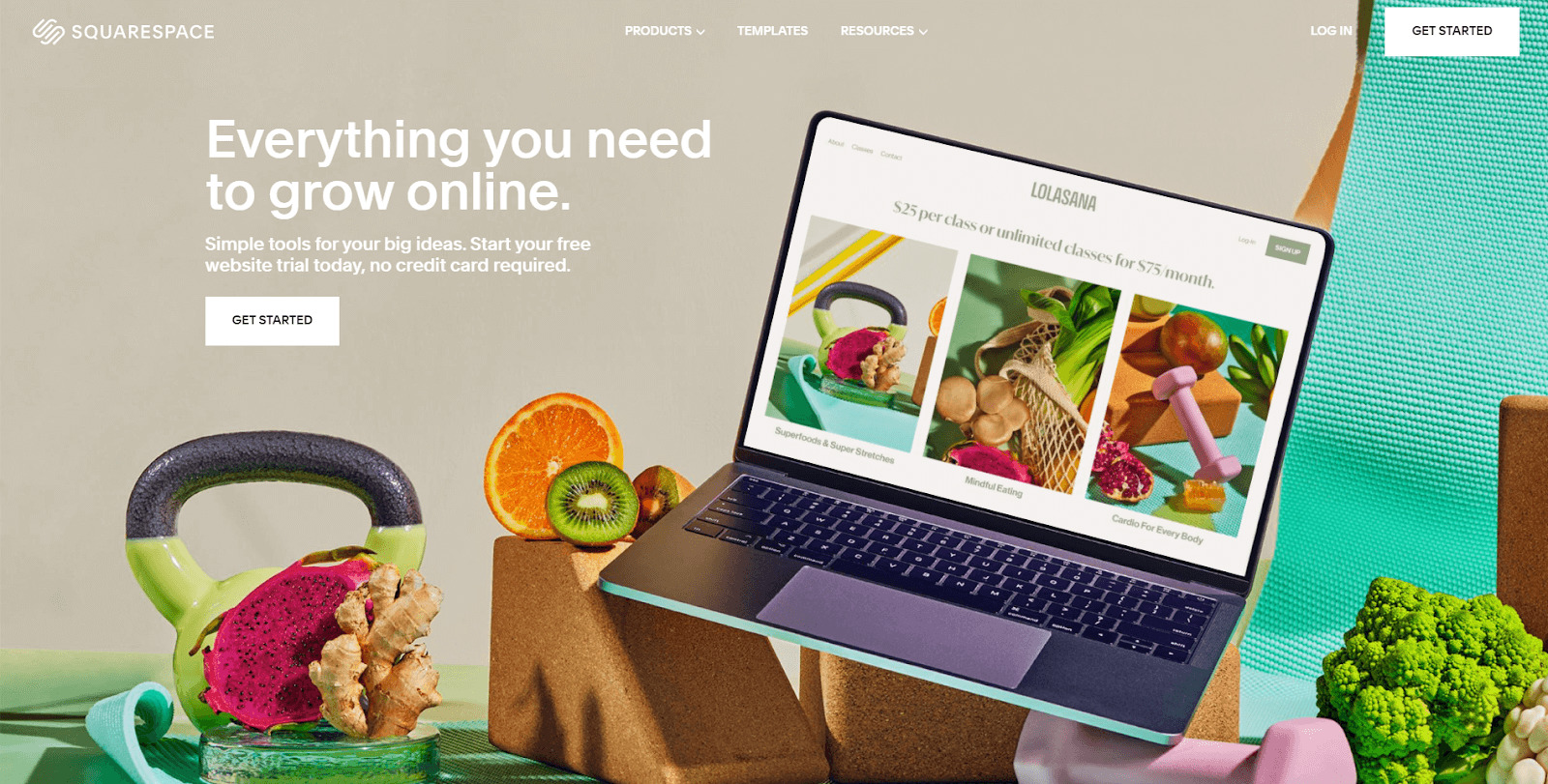 Squarespace is a fierce web development website in the game of design