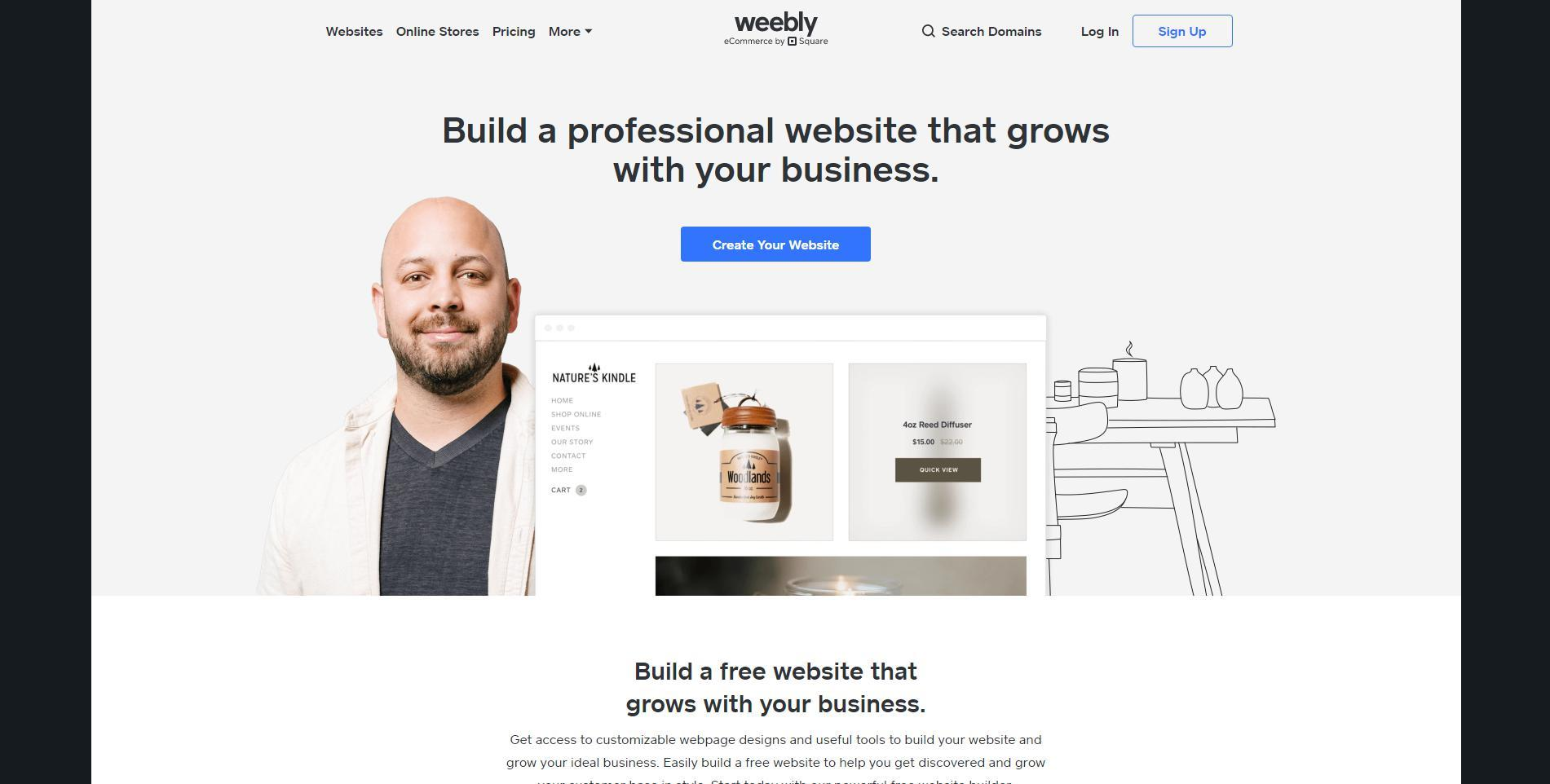 Stay on a budget? Weebly may help you to sort things out!