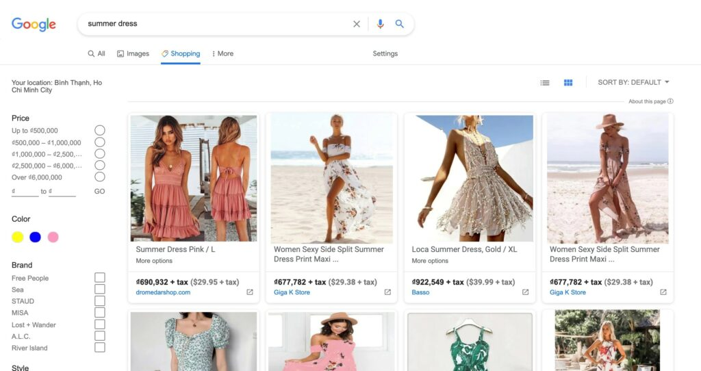 Google Shopping makes it easier for your products to be found