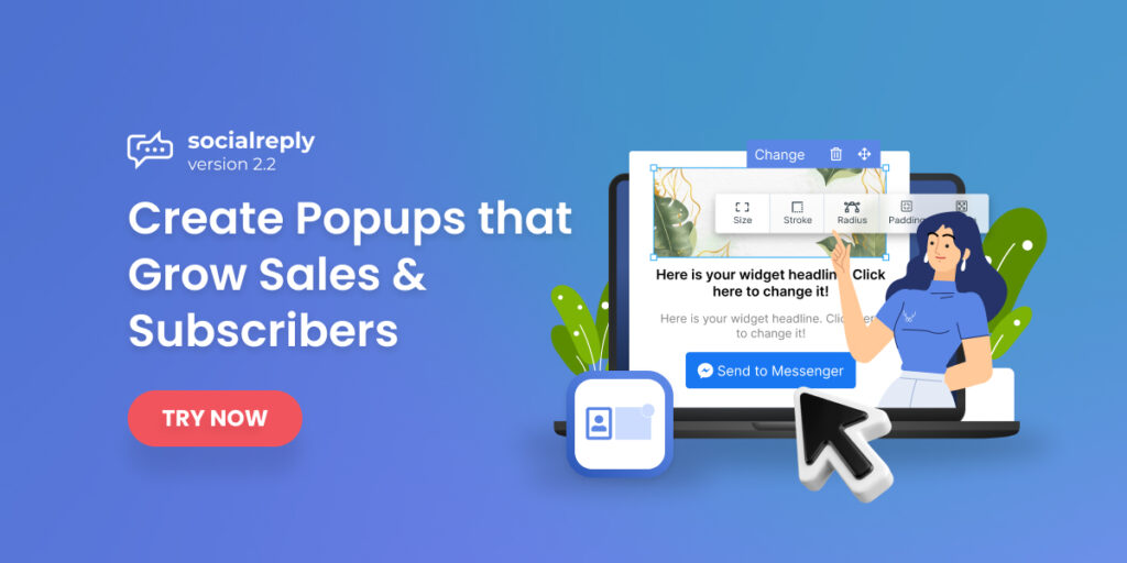 Socialreply V2.2 - Create Popups That Grow Sales & Subscribers