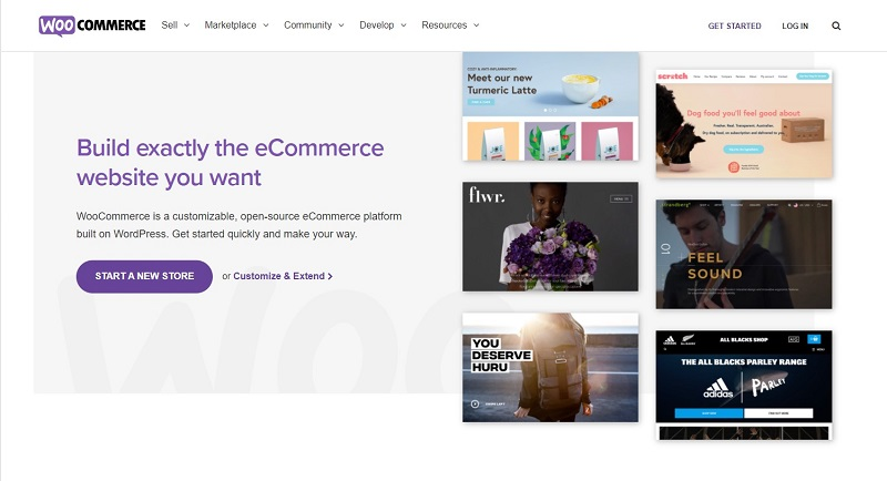 WooCommerce is one of the eCommerce platforms that can help you start your online business