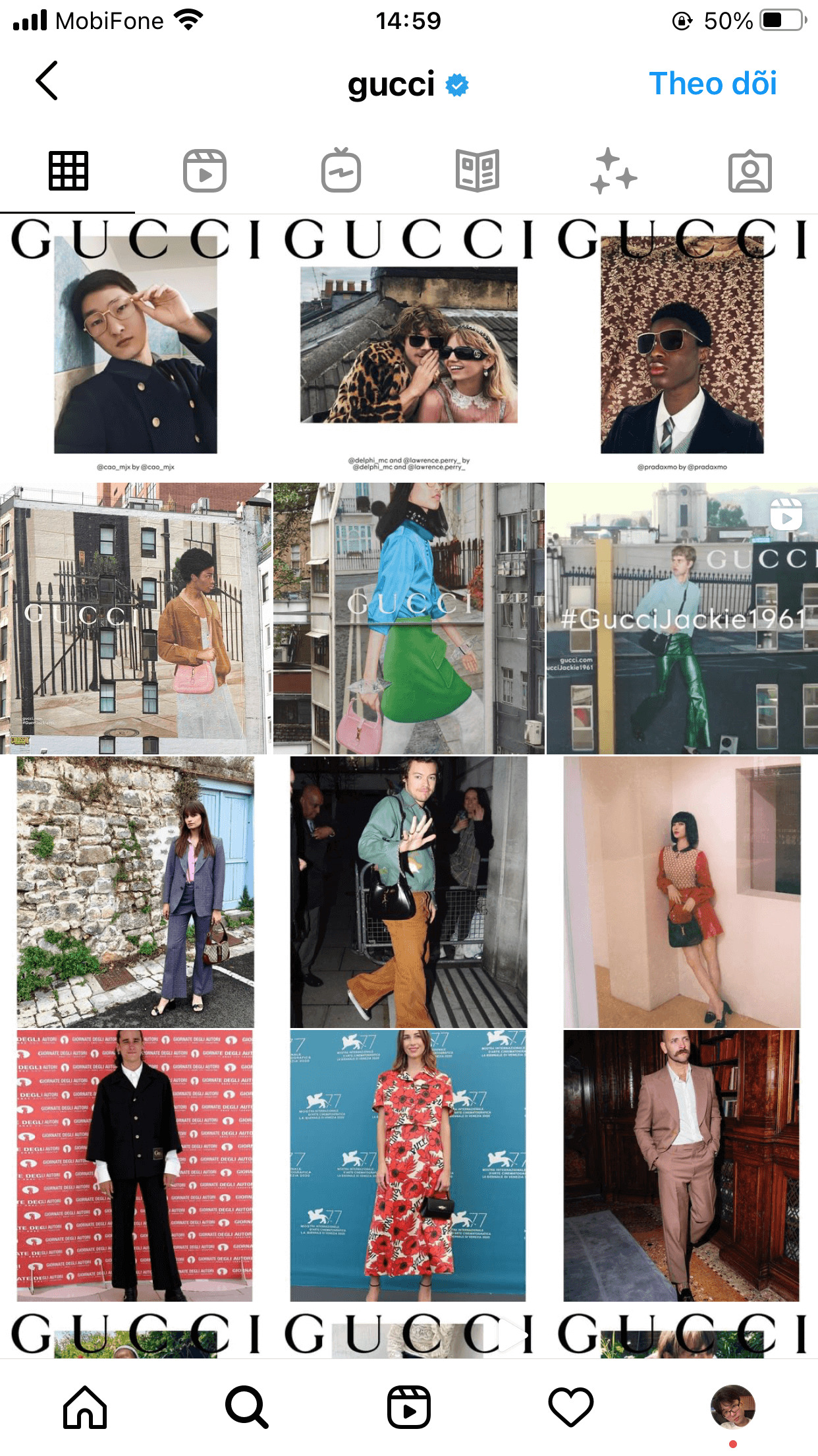Lifestyle is one of the most popular Instagram feed for clothing store owners