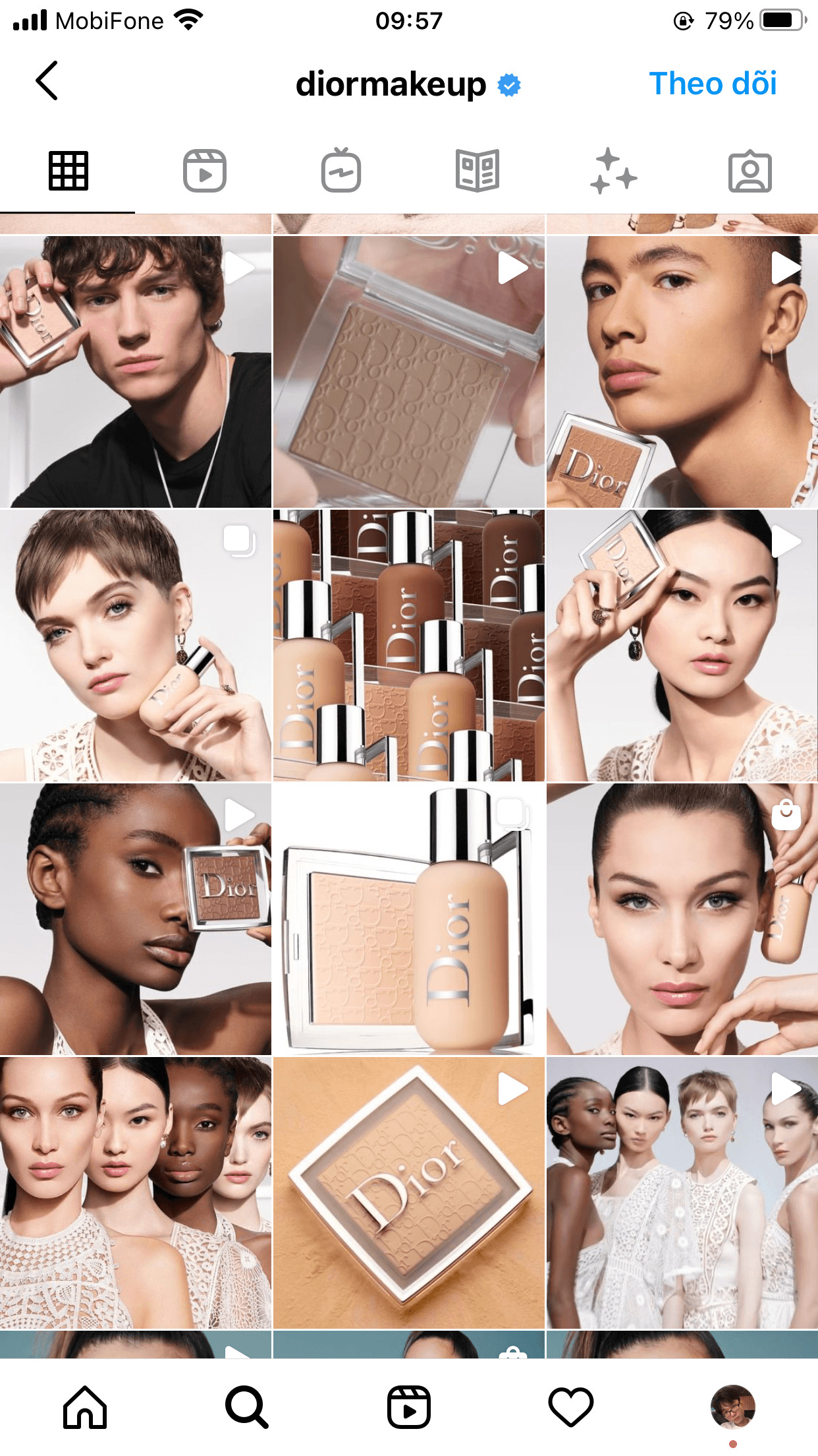 A beauty guru or not, one will be enraptured by this well-organized feed