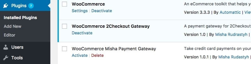 Multiple payment gateways support is one of the pros in this WooCommerce review