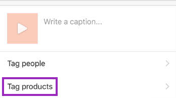 How to tag branded products in your posts