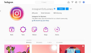 Instagram stories are highlighted on your profile page