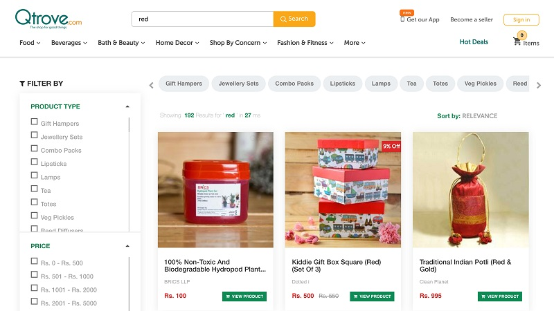 You can choose your theme for the search page. Source: Shopify