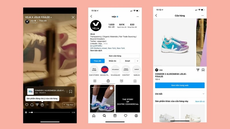 You can tag products in your IGTV videos for business
