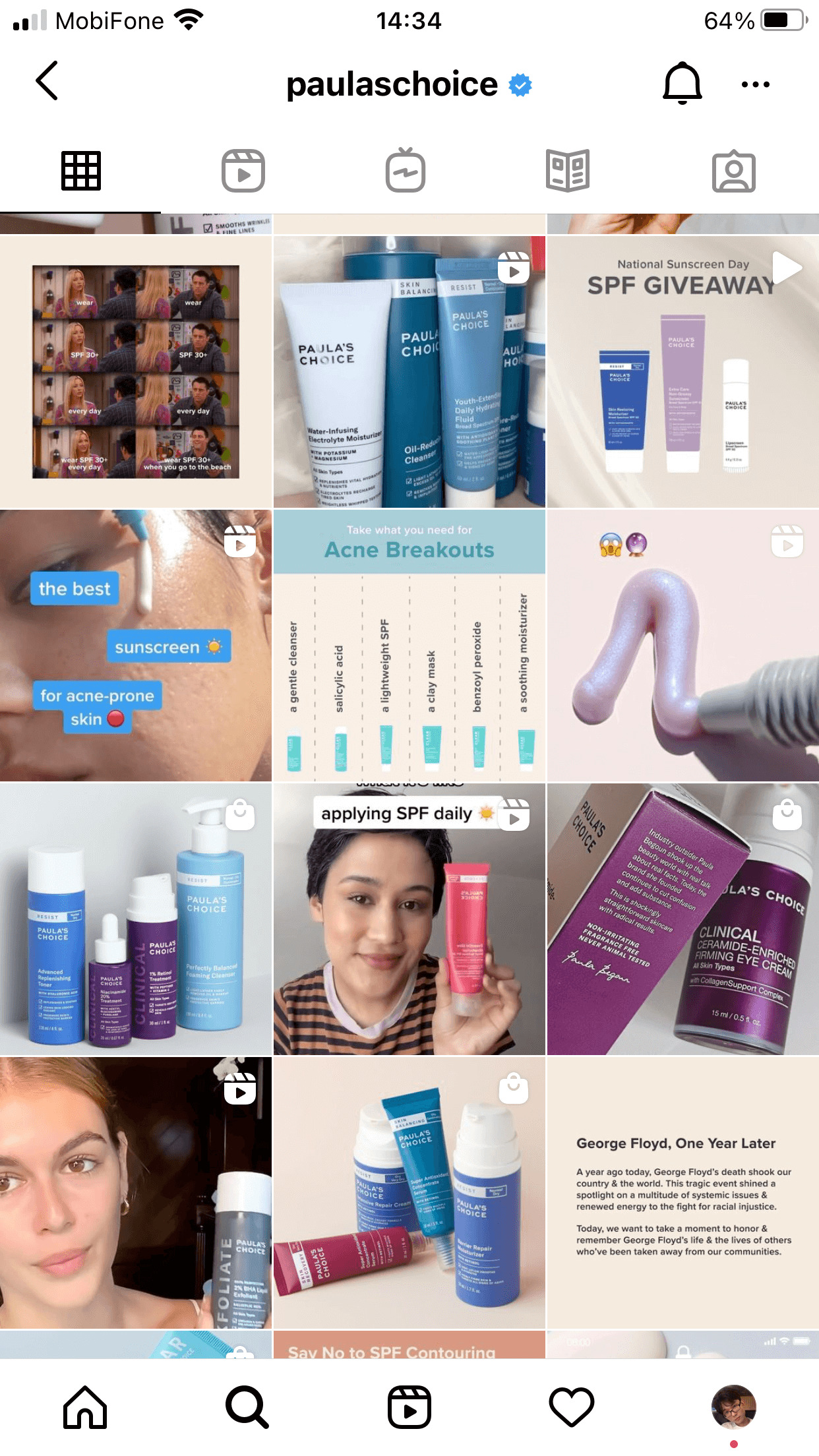 Paula's Choice usually uses these short videos to give audience a sneak peek of their products