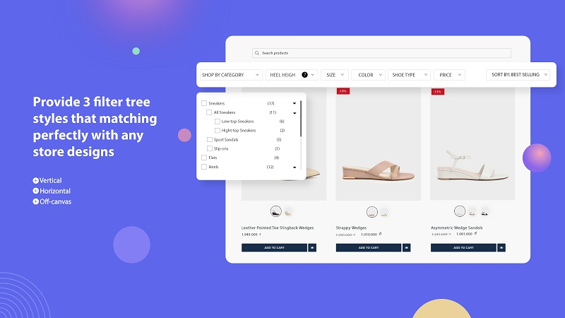 Shopify product filter app by Globo. Source: Shopify