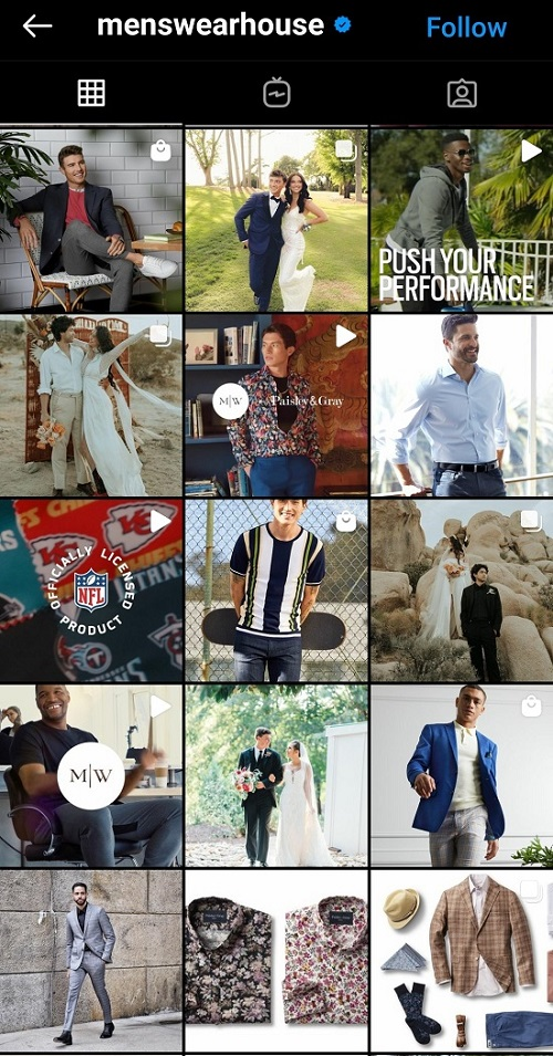 Keep signature style for better brand recognition