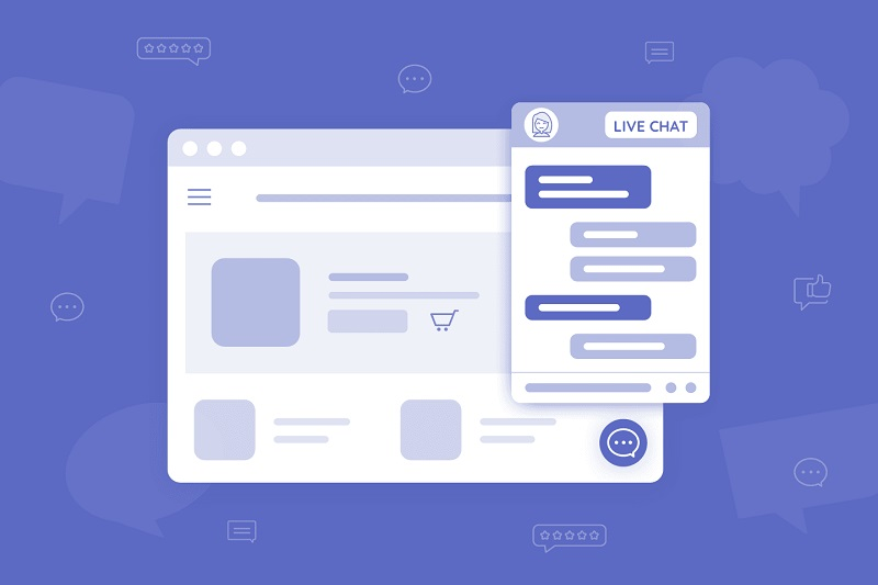 Communicate with your customers to make conversions possible with the Live chat feature