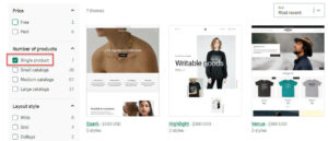 You can find a lot of suitable themes for your single product store easily