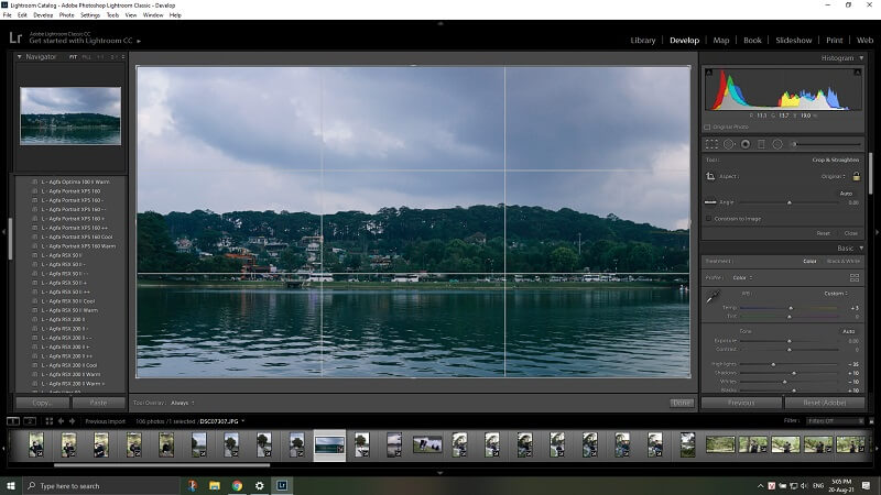 Use Lightroom to edit your photos