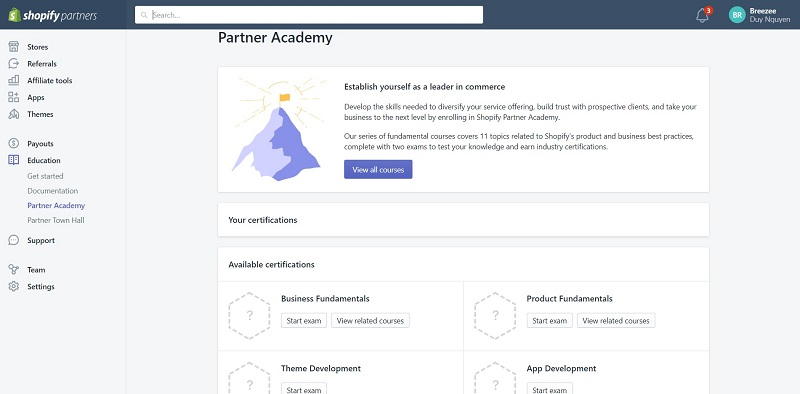 Partner Academy
